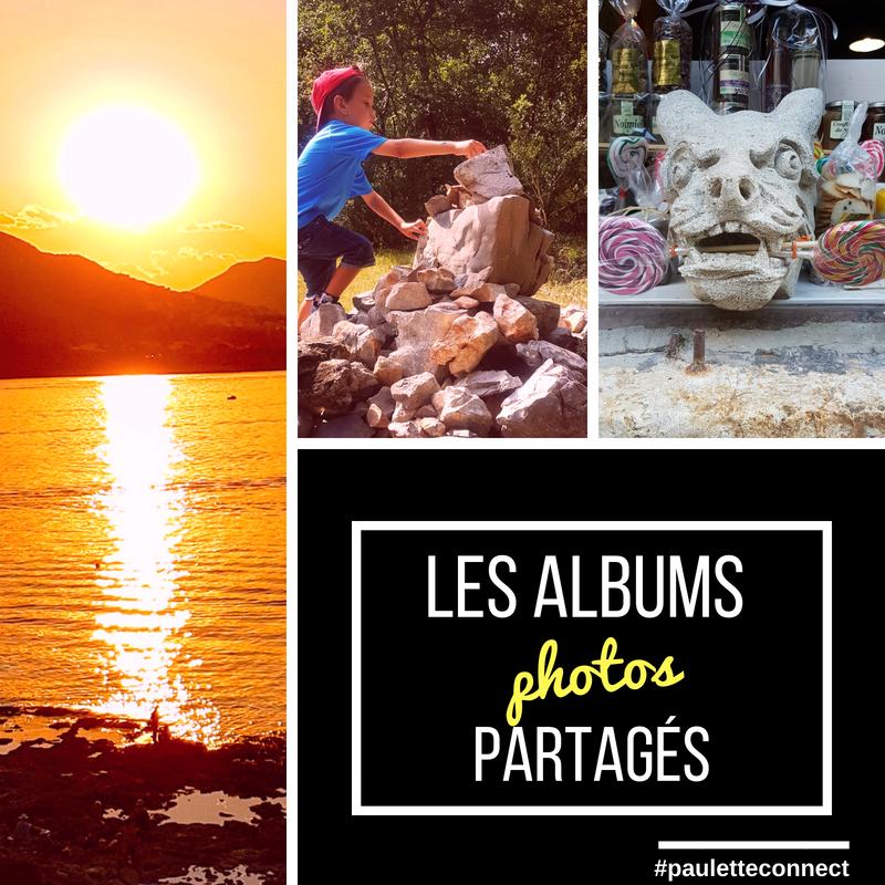 Les albums photos partagés