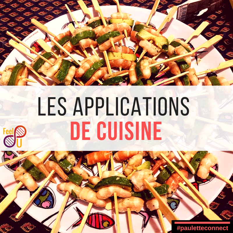 Les applications de cuisine