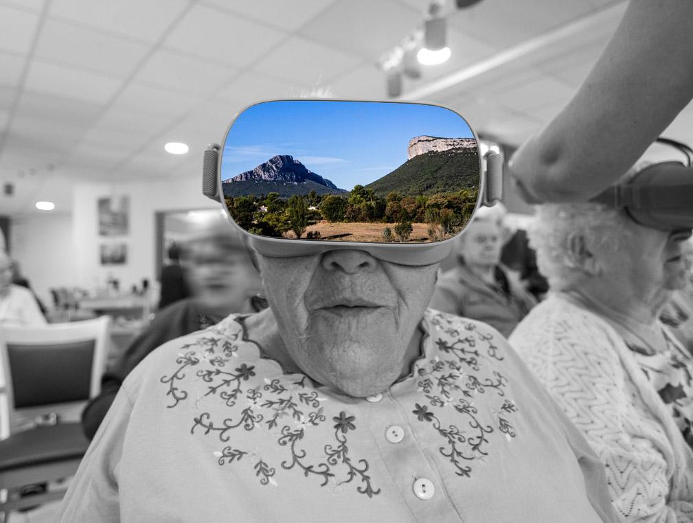 réalité virtuelle senior