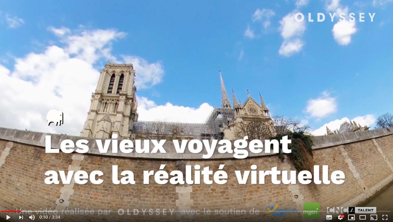 casque réalité virtuelle senior