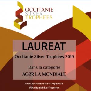 Prix silver économie Occitanie Silver Trophées