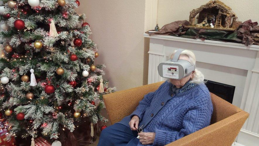 La réalité virtuelle à l'ehpad de Béziers