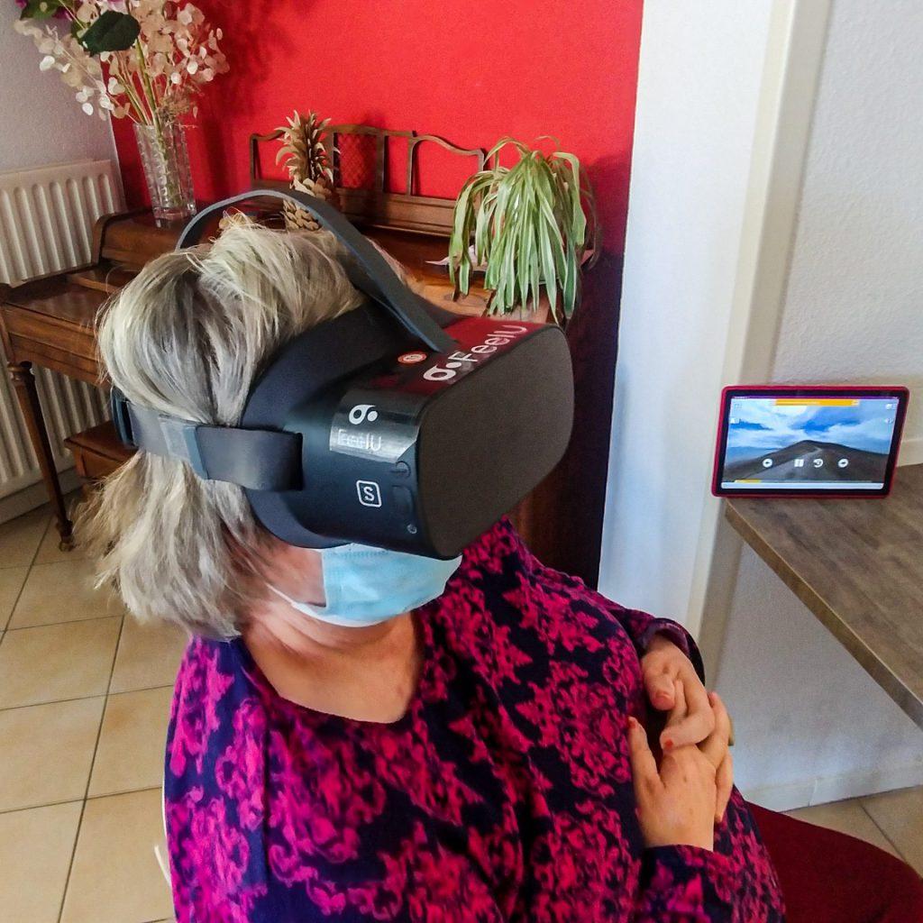 Solution de réalité virtuelle EHPAD