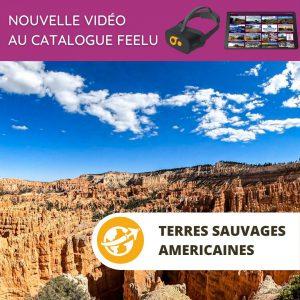 Film 360 Bryce Canyon et les terres sauvages américaines