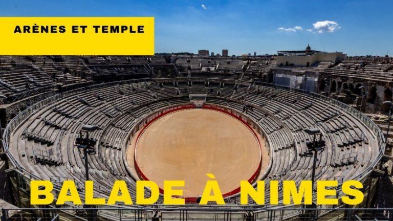 Balade à Nîmes en réalité virtuelle