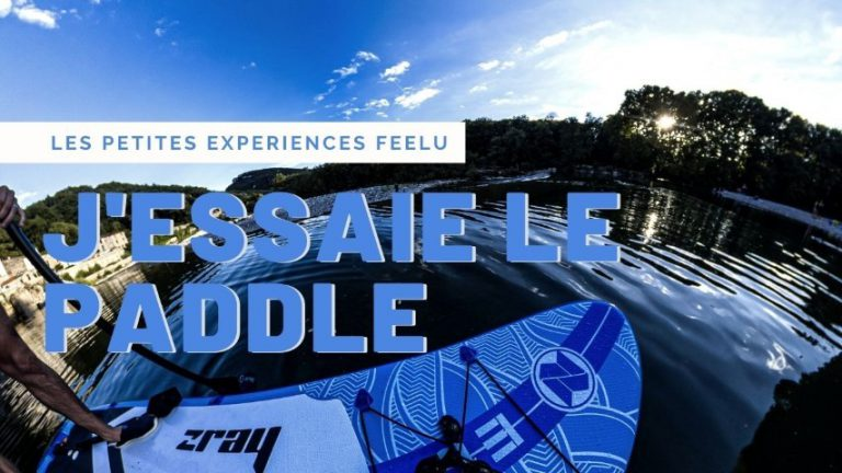 Faire du paddle en réalité virtuelle