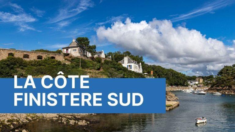 La côte Finistère sud en réalité virtuelle