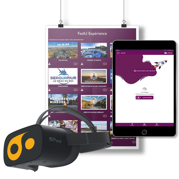 La solution de casque de réalité virtuelle pour ehpad