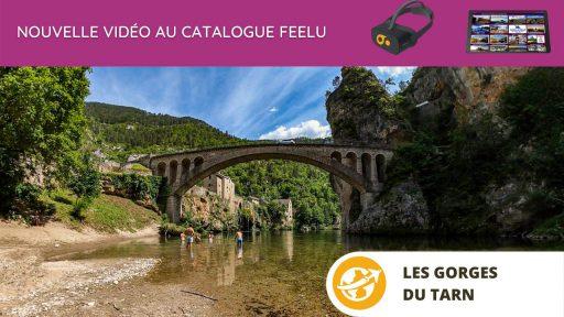 Les Gorges du Tarn en réalité Virtuelle en EHPAD